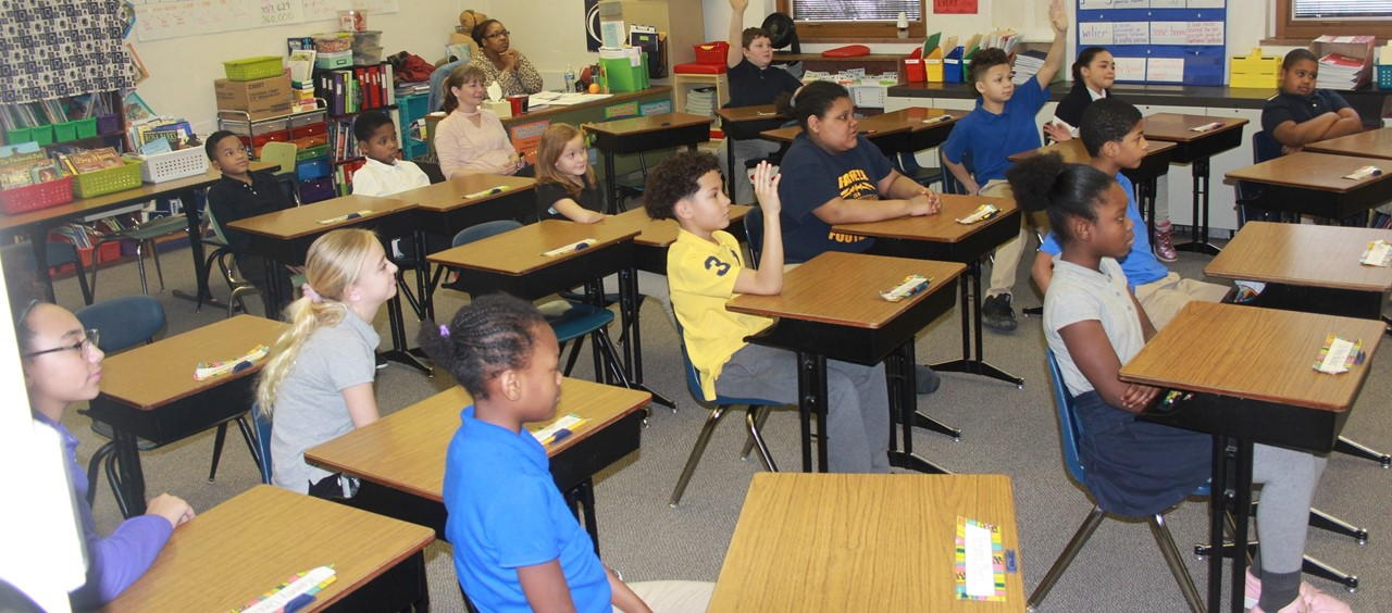 4th grade classroom