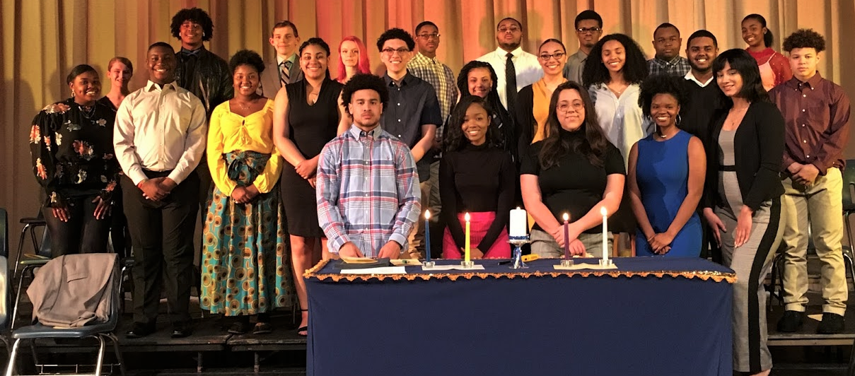 Farrell Area High School 2019 NHS Induction